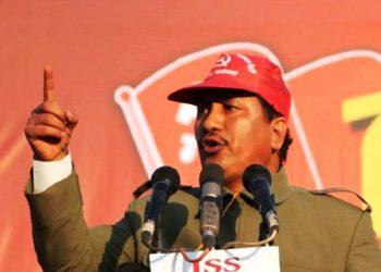 विप्लव समुहका दाङ जिल्लाको विद्यार्थी नेता पक्राउ