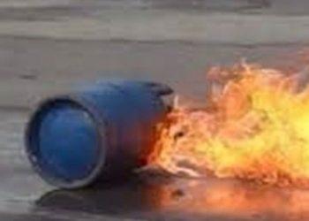 पेप्सिकोलामा सिलिन्डर विस्फोट, ५ जना घाइते