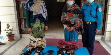 रोल्पाबाट १० किलो 'अफिम' सहित २ महिला पक्राउ !