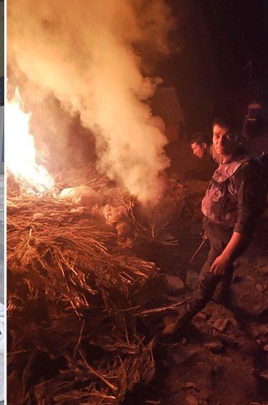 मकवानपुरमा गाँजा जलाएर फर्किइरहेको प्रहरी टोलीमाथि आक्रमण, दुई राउण्ड हवाई फायर